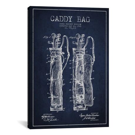"""Caddy Bag // Navy Blue (26""""W x 18""""H x 0.75""""D)"""