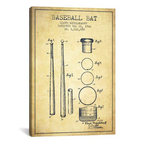 Baseball Bat III // Vintage