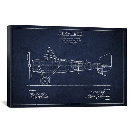 "Airplane 1 (18""W x 26""H x 0.75""D)"