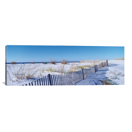 "Seashore Landscape, Santa Rosa Island, Florida, USA // Panoramic Images (36""W x 12""H x 0.75""D)"