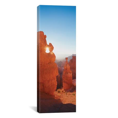 "Hoodoos at Sunrise, Bryce Canyon National Park, Utah (12""W x 36""H x 0.75""D)"