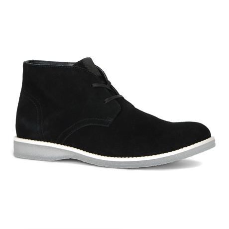 Harman Chukka Boot // Black + White + Clear