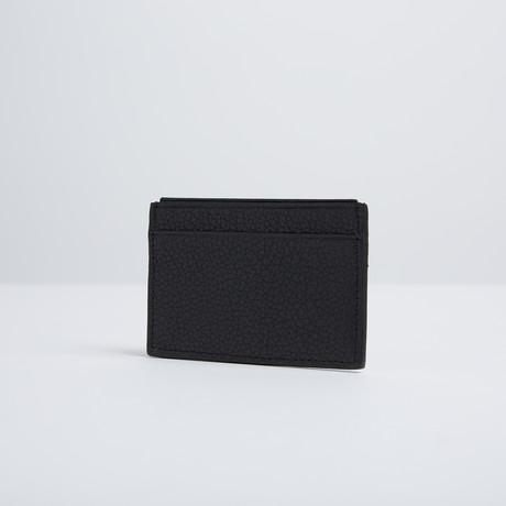 RFID Blocking Credit Card Case (Black + Blue)