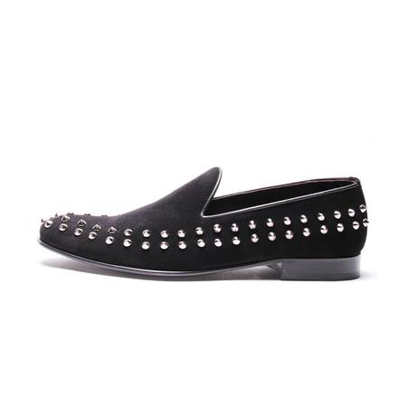 Studded Loafer // Black (Euro: 41)