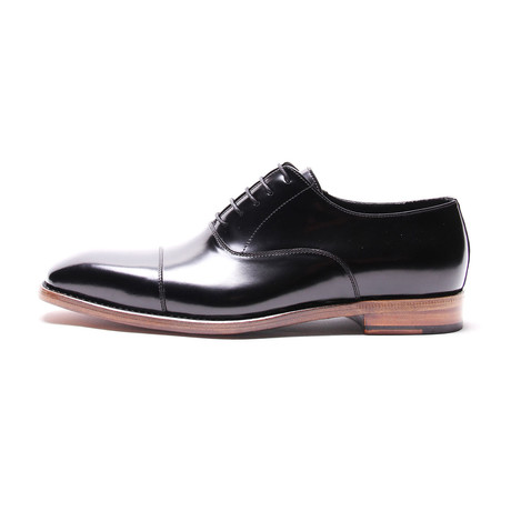 Cap Toe Oxford // Black Patent
