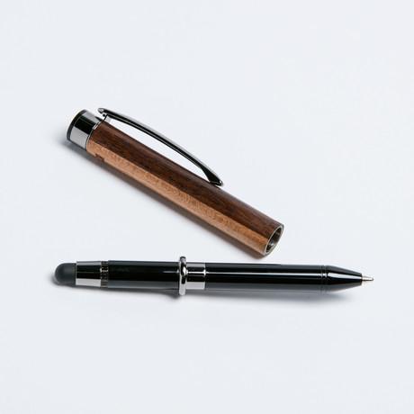 The Flip // Ballpoint + Stylus Pen // Dark
