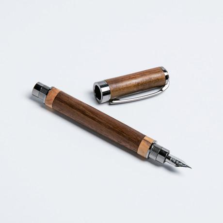 The Cap // Fountain Pen // Dark