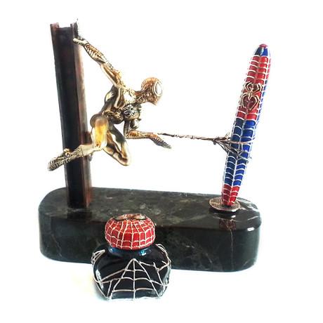 Spider Man Desk Set