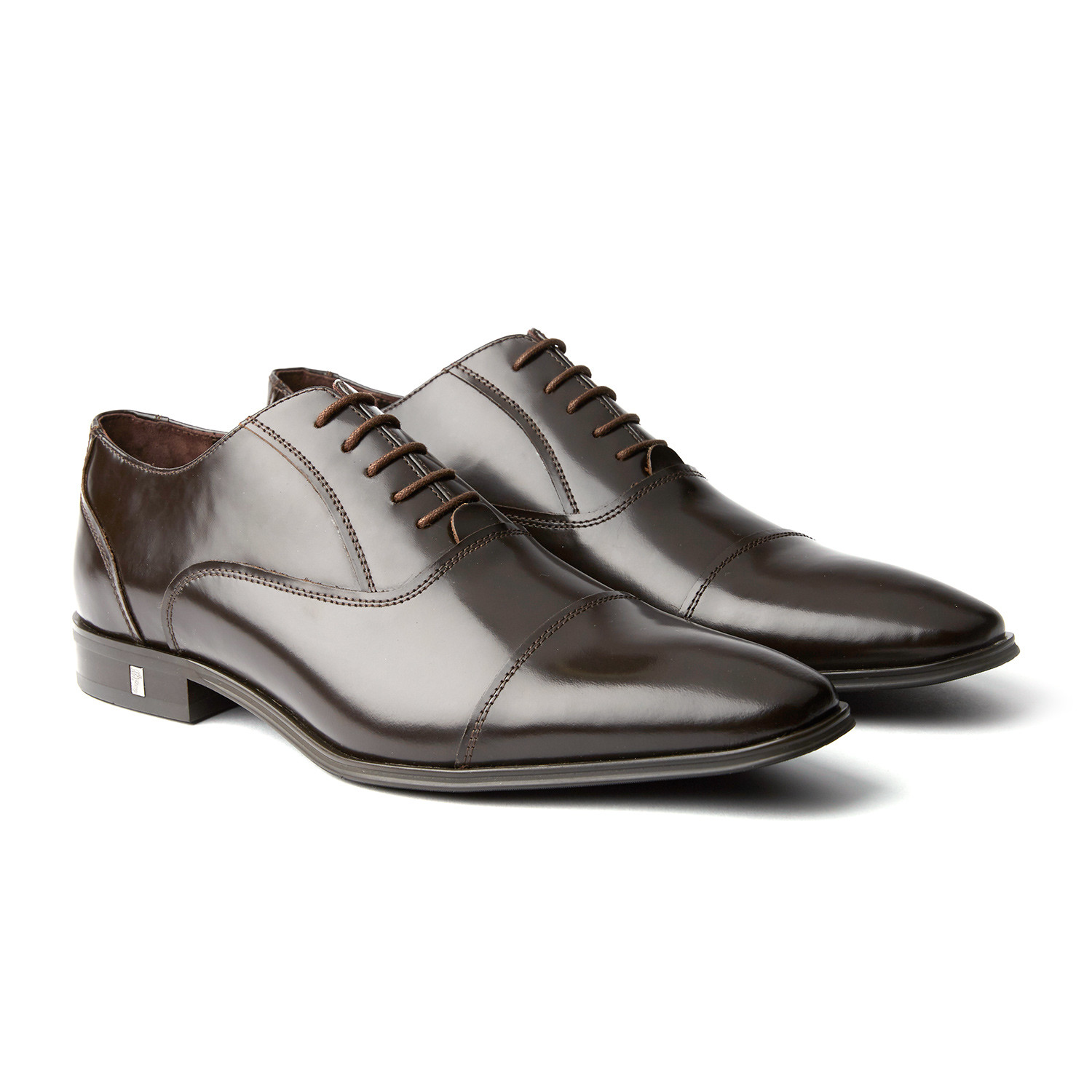 VERSACE COLLECTION Collection Cap Toe Oxford