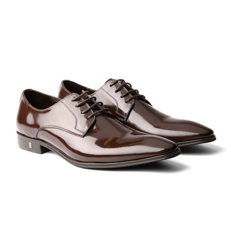 Versace // Plain Toe Derby // Brown (Euro: 39)