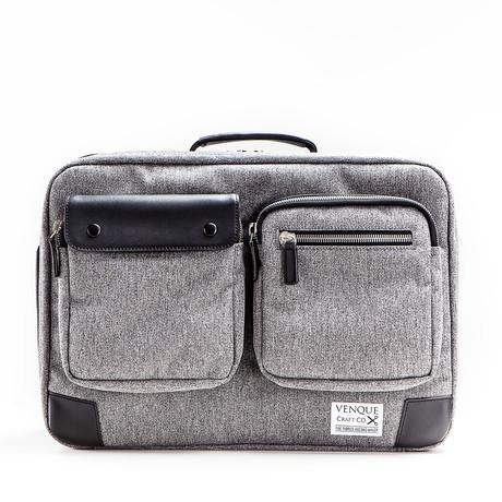 Briefpack XL // Grey + Black (Gray)