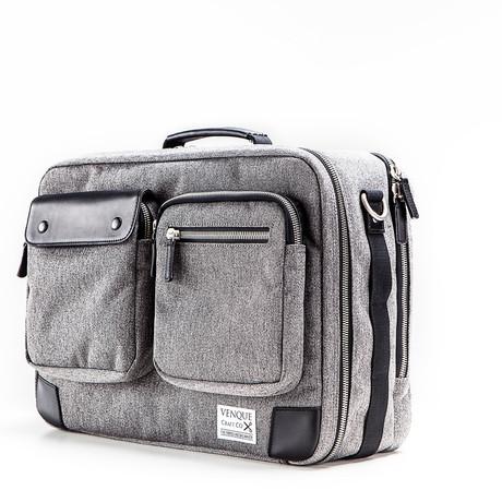 Briefpack XL // Grey + Black