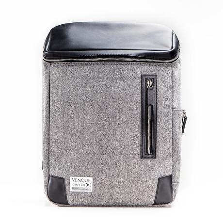 Amsterdam Backpack // Grey + Black