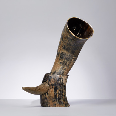 Drinking Horn // Natural Finish // 20