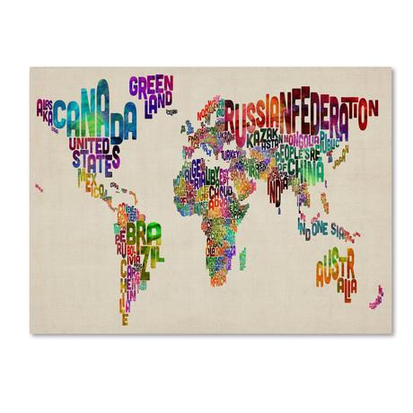 Typography World Map II