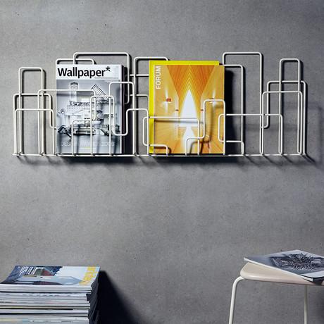 City Sunday // Magazine Rack (Black)