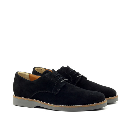 Suede Blucher // Black (Euro: 39)