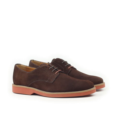 Suede Blucher // Chocolate (Euro: 39)