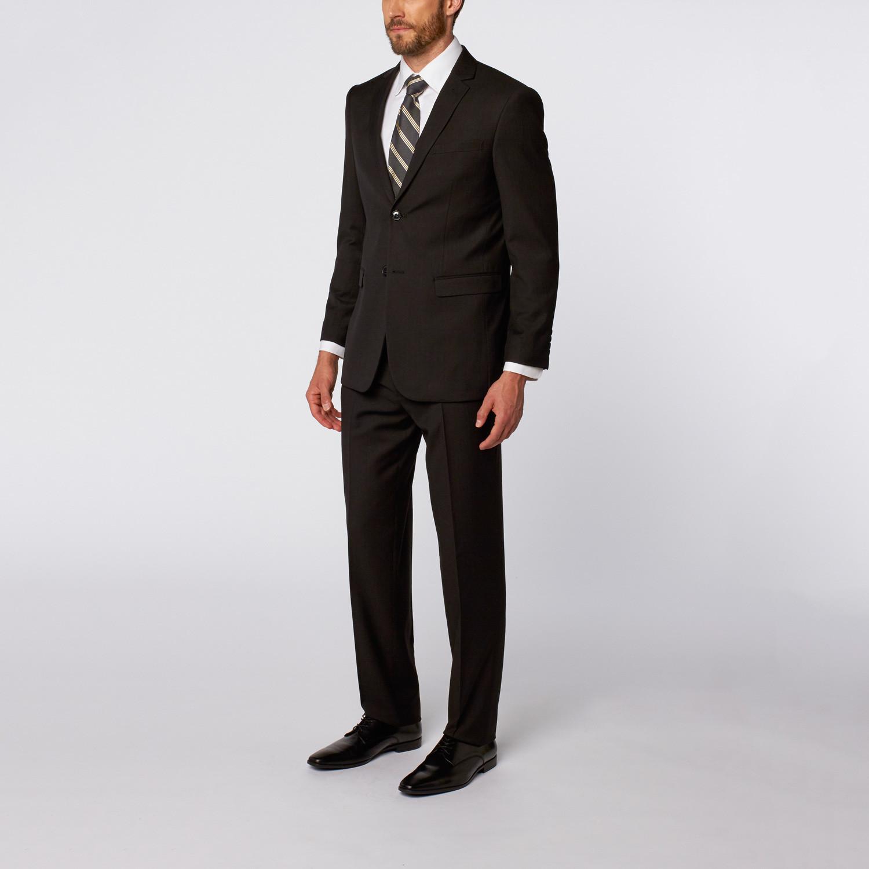Slim-Fit Suit // Black Pattern (US: 36S) - Karako - Touch ...