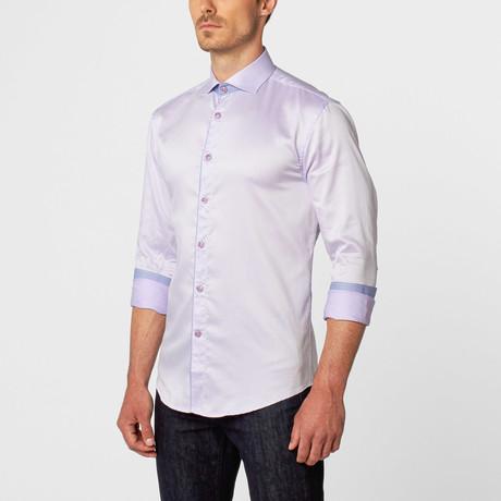 Super Oxford Button-Up // Lavender