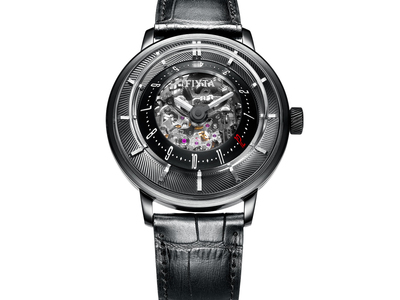 Touch Of Modern - Fiyta Out-Of-This-World Watch Design Fiyta 3D-Time Modern Watch Automatic // GA8606.BBB Photo
