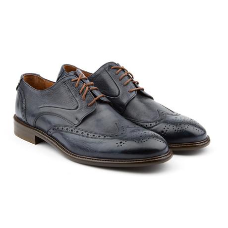 Patriot Fulton Brogue Shoe // Blue (US: 7)
