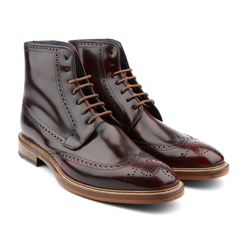 Bossman Wingtip Boot // Oxblood (US: 7