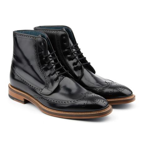 Bossman Wingtip Boot // Black (US: 12)