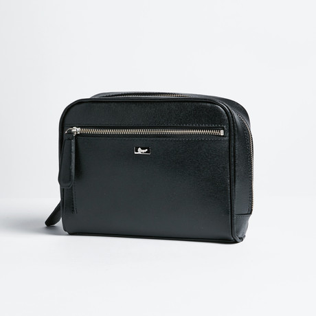 Toiletry Bag // Saffiano Leather