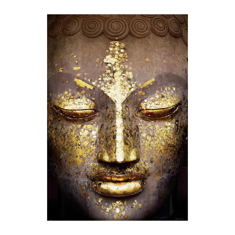 buddha face 1 wall murals touch of modern buddha face
