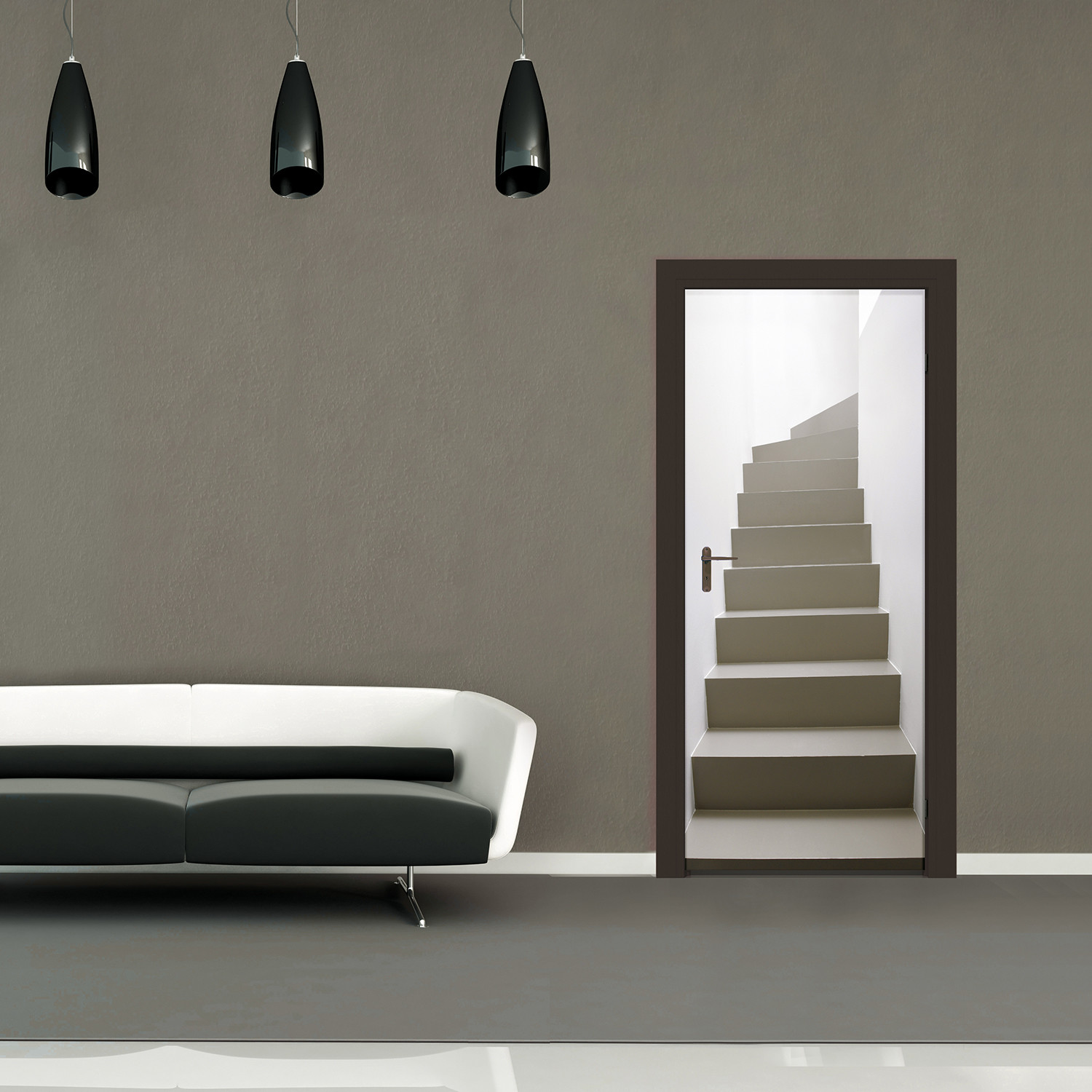 escape route door mural 1 wall murals touch of modern escape route door mural