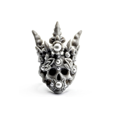 Coral Crown Ring (Size: 5)