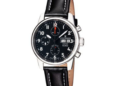 Touch Of Modern - Revue Thommen Up to 80% Off Fine Swiss Timepieces Revue Thommen Airspeed XL Classic Automatic // 16051.6537 Photo