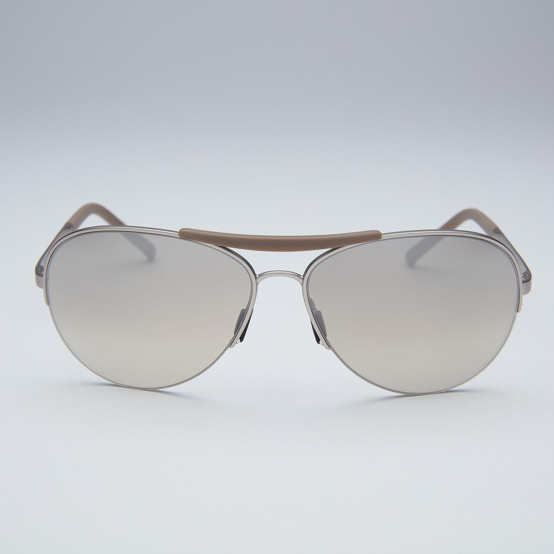 fcdf1a6a18 Porsche aviator sunglasses gunmetal frame olive silver mirror lens jpg  1500x1500 Olive mirrored aviators