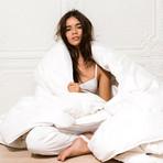 White Duck Down Comforter (Twin)