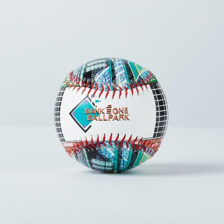 Bank One Ballpark (Baseball + Display Case)