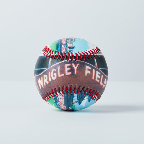 Wrigley Field (Baseball + Display Case)