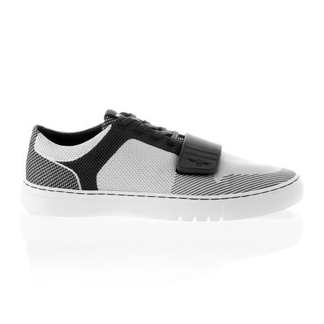 Cesario Lo Woven Sneaker // Black + Cloud