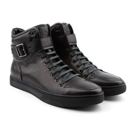 Sullivan High-Top Sneaker // Black
