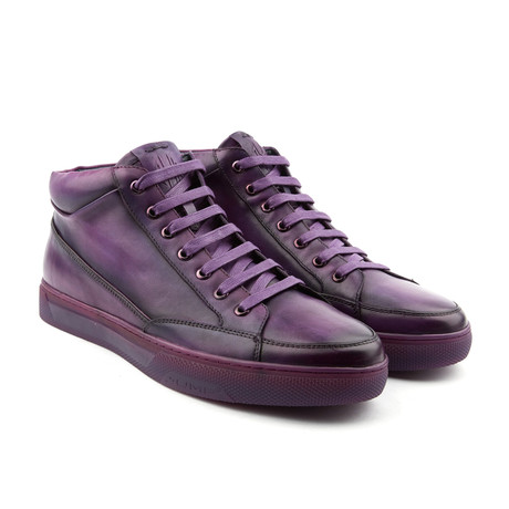 Strickland High-Top Sneaker // Purple (US: 7)