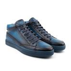 Strickland High-Top Sneaker // Navy (US: 7)