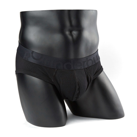 Padded Package Brief // Black (S)