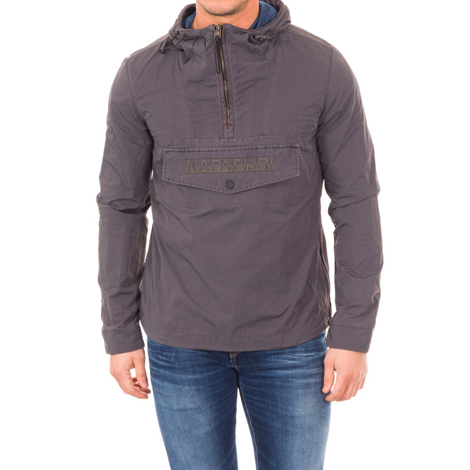 Rainforest Superlight Jacket Charcoal (L) Napapijri