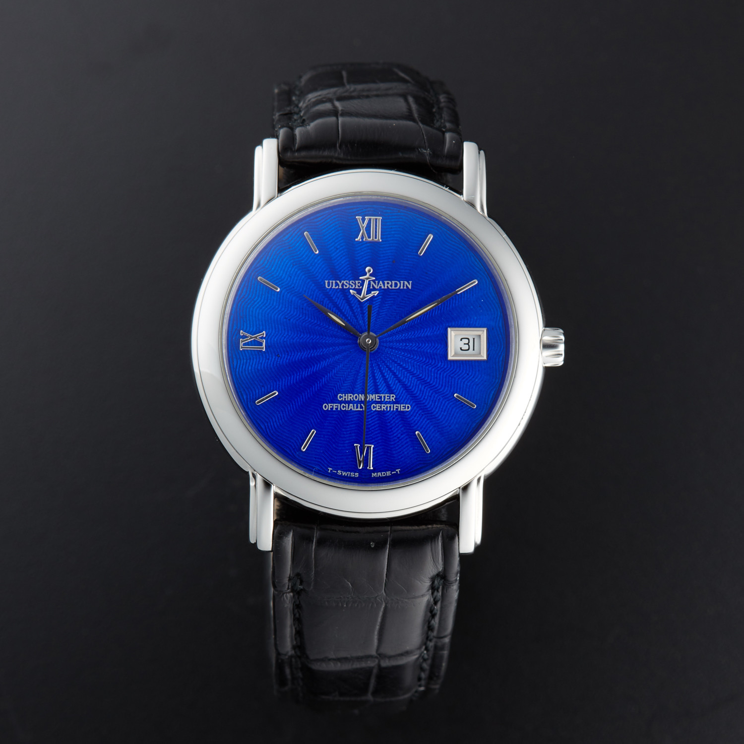Ulysse Nardin San Marco Automatic // 133-77-9 // Pre-Owned ...
