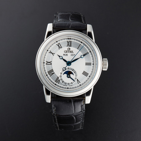 Gevril Complete Calendar Moonphase Automatic // R007 252 // Pre-Owned