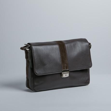 Executive Messenger Bag (Brown)