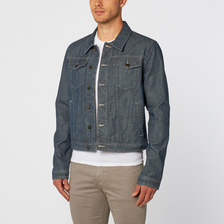 Joe's Jeans // Dresden Denim Jacket // Mid Indigo (L)