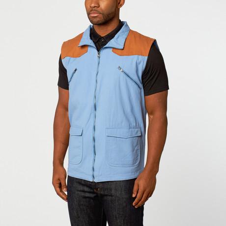 Ashton Vest // Blue (S)