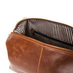 The Journeyman Dopp Kit (Brown)