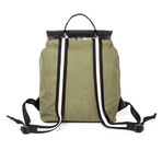 The Journeyman Rucksack (Military Green + Black)